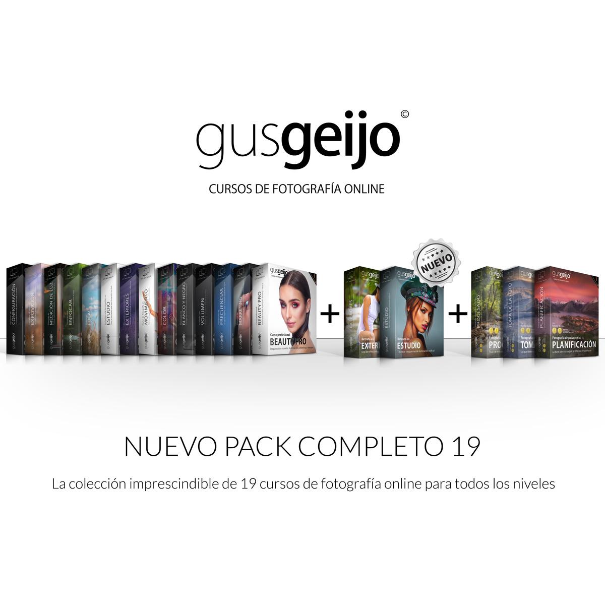 Pack Completo de 19 cursos de fotografía online - Gus Geijo Cursos de  fotografía online 84b67ccdb47d1